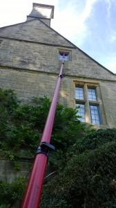 Easy for water fed pole systems as used by DMC Window Cleaning!